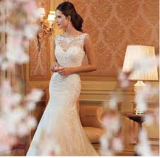 2016 white wedding dresses slim elegant trumpet long section