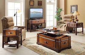 lift top trunk coffee table furniture home amazing living room trunk coffee table brown