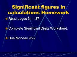 chapter 2 u201cscientific measurement u201d section 2 5 significant figures