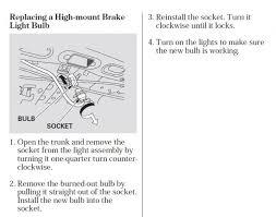 2008 honda civic third brake light how to switch 3rd brake light bulb p honda tech honda forum