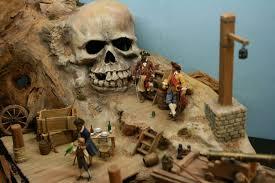 skull island diorama dioramas pinterest skull island