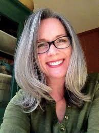 18 best growing out gray hair my transition images on pinterest