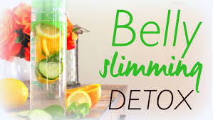 natural belly slimming detox water recipe youtube