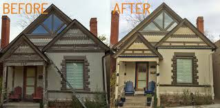 Before And After Home Exteriors by Exterior Painting Before And After