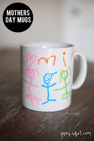mother u0027s day mugs easy diy gifts and craft