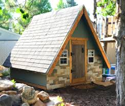 Small A Frame Cabins by A Frame Playhouse Plan 8x8 Pdf Download