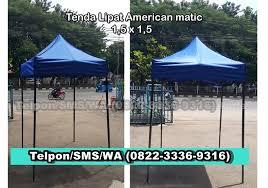 Tenda Lipat Ukuran 3x3 0822 3336 9316 jual tenda ukuran 2x2 tenda lipat american matic