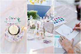 kitchen tea cake ideas modern watercolour kitchen tea ideas with craft class tips