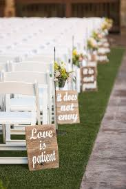 wedding ceremony decoration ideas 25 rustic outdoor wedding ceremony decorations ideas decorating