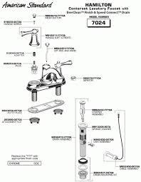 American Standard Faucet Diagram Perfect Kohler Bathroom Sink Drain Parts And Kitchen Faucet