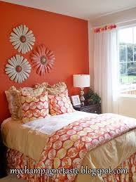 Coral Bedspread This Would Look Really Nice One Wall A Soft Coral Colour With
