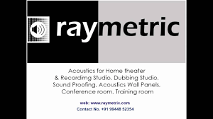 home theater training acoustic treatment services in chennai raymetric youtube