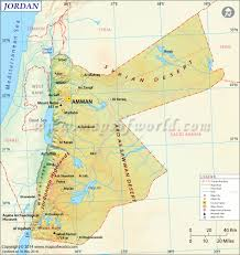 Africa Middle East Map by Jordan Map Maps Pinterest Rivers Middle East And Jerash