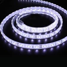 16 4ft waterproof silicone led strip lights 7000k daylight tape