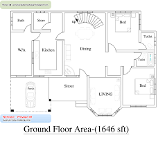 Floor Plans For 1500 Sq Ft Homes Home Plan And Elevation Sq Ft Kerala House Design Idea Also
