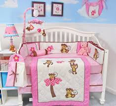 Purple Nursery Bedding Sets by Bedroom Shabby Chic Chenille Baby Girl Bedding Set Ideas The