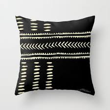 home design down pillow african mud 103 throw pillow by the artist j 20 00 detalles