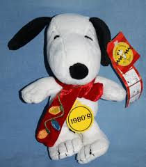 Cvs Christmas Lights Peanuts Snoopy Dog Plush 1980 2009 Cvs Stuffed Soft Toy 8