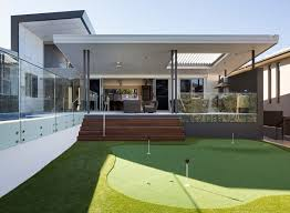 Modern Home Design Reflecting the Owners Personalities Golf