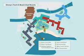 Walt Disney World Transportation Map by Disney U0027s Beach Club Villas Walt Disney World Undercover Tourist