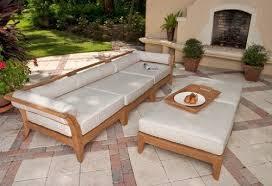 elegant outdoor furniture set with adjustable coffee table 7 jpg