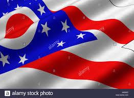 Ohios State Flag United America Flag Ohio State Stock Photos U0026 United America Flag