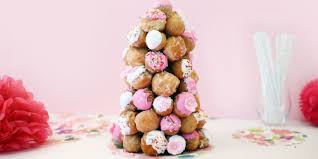 how to make a donut tree