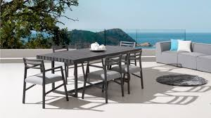 blaze 6 seater outdoor dining set lavita furniture