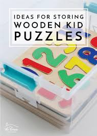 ideas for storing wooden kid puzzles the homes i have made