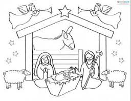 printable nativity scenes
