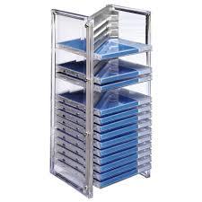 cd turm hama cd u0026 office rack nexus 20 silber kaufen otto