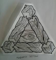 all seeing eye separated wooden impossible