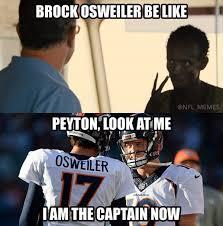 Denver Broncos Meme - 29 best memes of brock osweiler the denver broncos beating tom