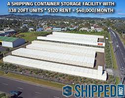 is a shipping container storage facility the best investment in