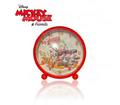 sveglia comodino wd10436 orologio da polso con orologio da comodino sveglia mickey