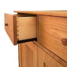 in stock modern shaker long sideboard buffet solid wood