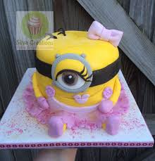 minion birthday cake silva creations on girl minion birthday cake