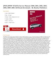 bmw x5 e53 service manual pdf docdroid