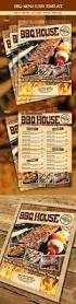 bbq steak menu flyer steak menu food menu and print templates