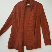 merona sweater 76 merona sweaters merona burnt orange sweater from