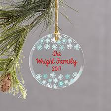 personalized ornaments for couples