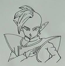 zamasu drawing dragon ball dragonballz amino