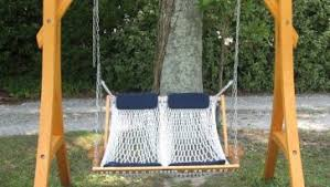 excellent honey resin wicker porch swing and natural color with