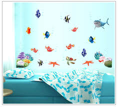 Ocean Wall Decals For Nursery by Wall Ideas Ocean Wall Decor Ocean Life Wall Decor Cheap Beach