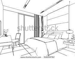 royalty free outline sketch drawing perspective of a u2026 311187485
