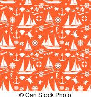 hues of orange knitting ornate seamless pattern in hues of orange abstract