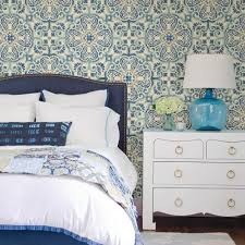 wallpops florentine blue medallion tile wallpaper nu2235 u2013 d