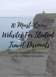 travel discounts images 10 must know websites for student travel discounts macarons png