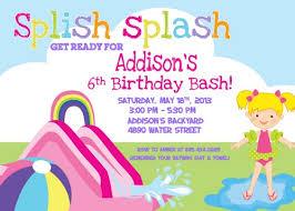 swimming party invitations templates free futureclim info