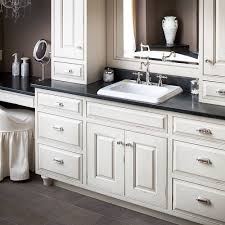 fine white bathroom cabinets granite countertops kitchen and with